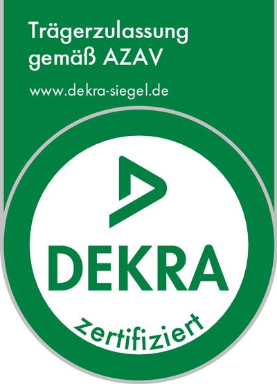 Wir sind zertifiziert nach AZAV.